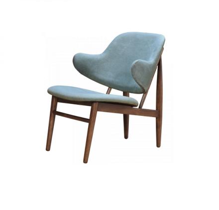 Minto accent chair (hazy blue)