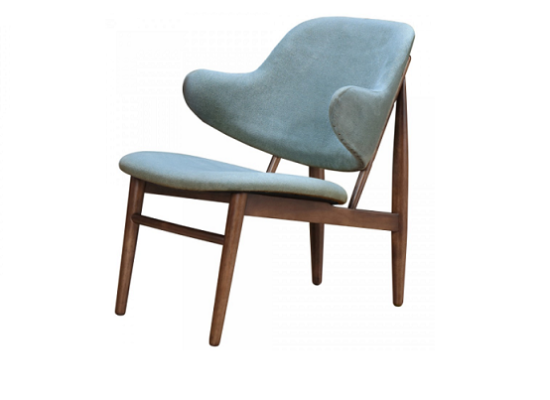 Minto accent chair (hazy blue)