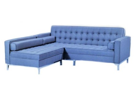 amira sectional (blue)