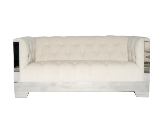 Channel Loveseat (Beige)
