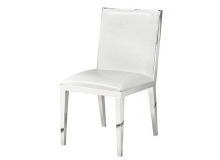 serena dining chair (white)