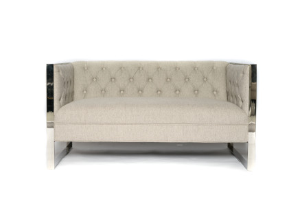 london loveseat (beige)