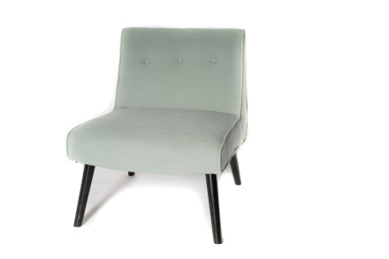 aria accent chair (blue)