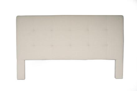 noah headboard (king beige)
