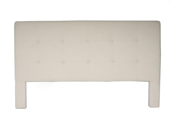 noah headboard (king beige)