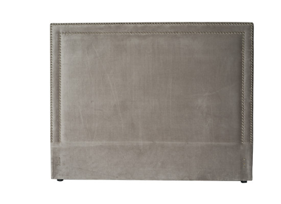 rana headboard (queen velvet grey)