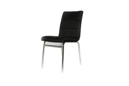 dana dining chair (black fabric)