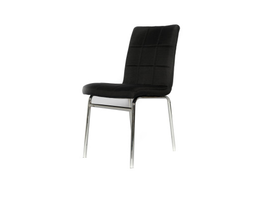 dana dining chair (black fabric)
