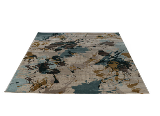 splash blue rug 5 x 7 (r 168)