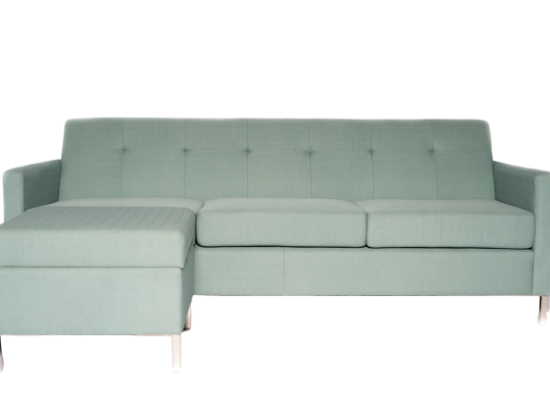 Logan Sectional (Teal)