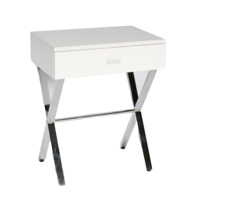 Nola Night Table (White)