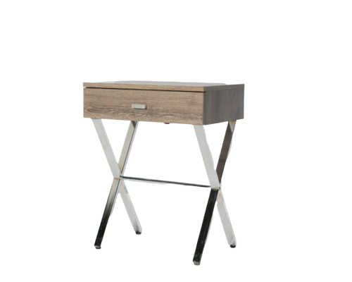 nola night table (taupe)
