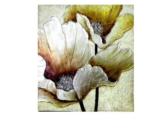 gold carnation print (print 239)