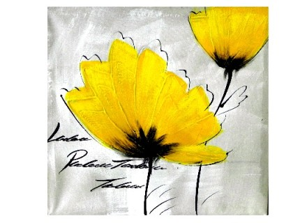 yellow daisy 1 print (print 224)