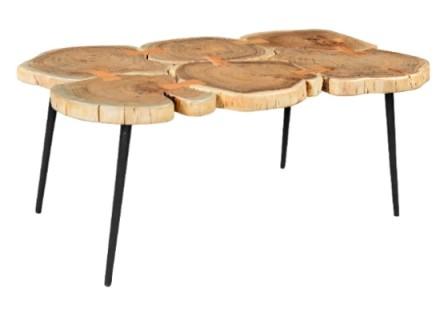 Stump coffee table