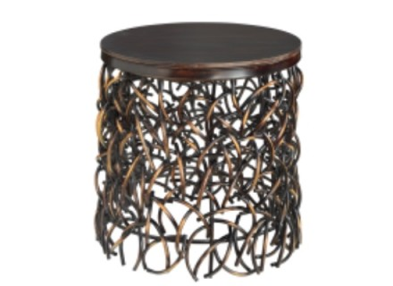 Tangle End Table