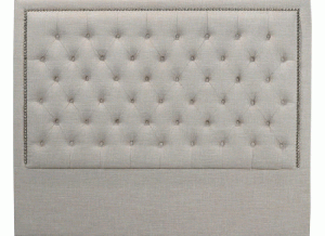 diamond headboard (king grey)