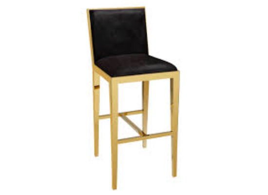Serena Bar Stool (Black)
