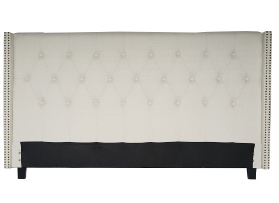 lenore full bed (king beige)