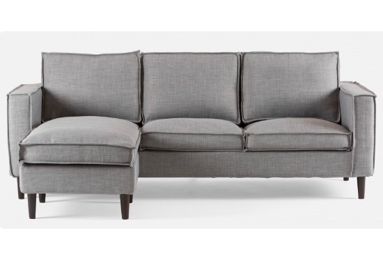 uno sectional (grey)