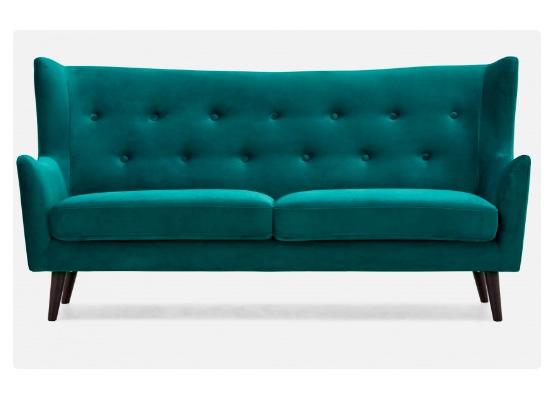 ariel sofa (teal)