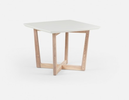 Kia End Table White