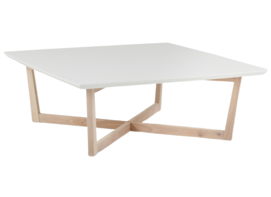 Kia Coffee Table White