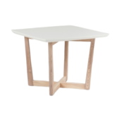 Kia End Table (White)