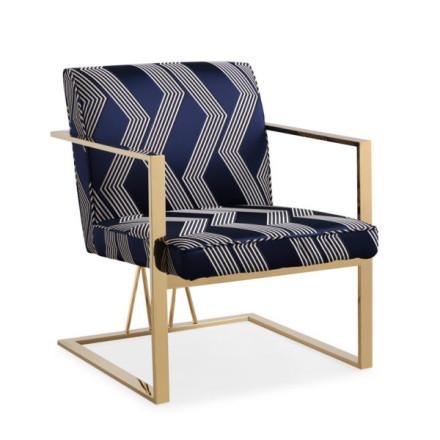 Brazil Accent Chair (Gold)