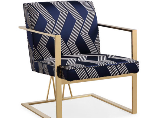 Brazil Accent Chair (Gold)