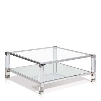 Ice Coffee Table Square