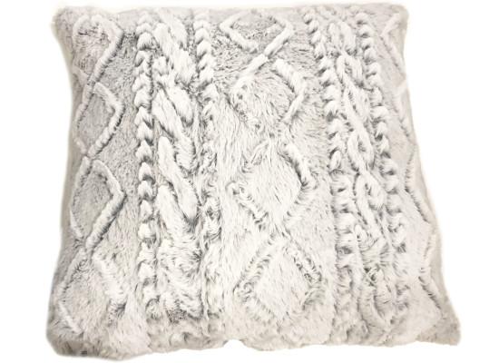 Textured Grey Pillow (PLL 334)