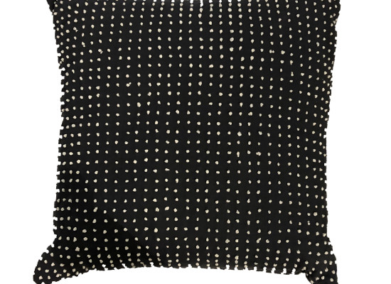 Grey Polkadot Pillow (PLL 300)