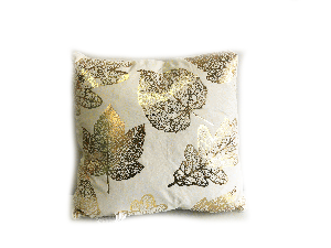 GOLD LEAF PILLOW (PLL232)
