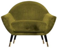Olivia Accent Chair (Color: Green)