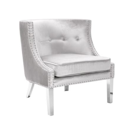 Panama Accent Chair (Premium Velvet)
