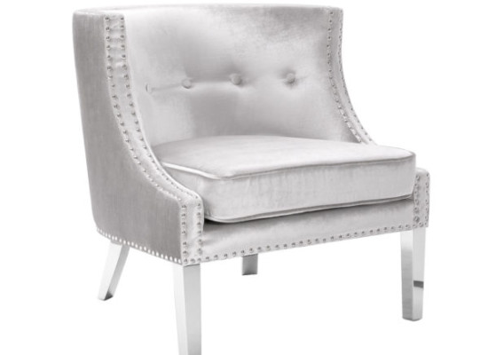 Panama Accent Chair (Premium Velvet)