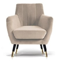 Emily Accent Chair (Color: Sandy Beige)