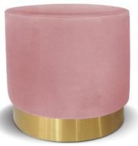 Belle Ottoman (Blush Pink)