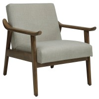 Brian Accent Chair (Beige)