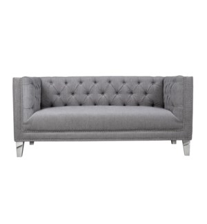 Chloe Loveseat Grey