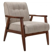 Jeff Accent Chair (Beige Blend)