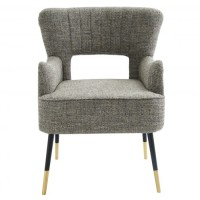 Norah Accent Chair (Multi-tone textured beige)