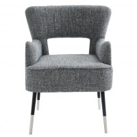 Norah Accent Chair (Grey)
