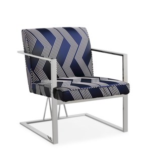 Brazil Accent Chair (Silver)