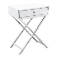 Carly Night Table (White)