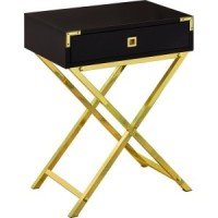 Carly Night Table (Black)