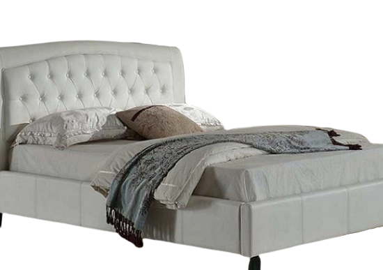 Poise Full Bed (Double: White)