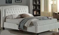 Poise Full Bed (Double: White)