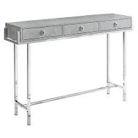 Layla Console Table (Color: Grey Cement)